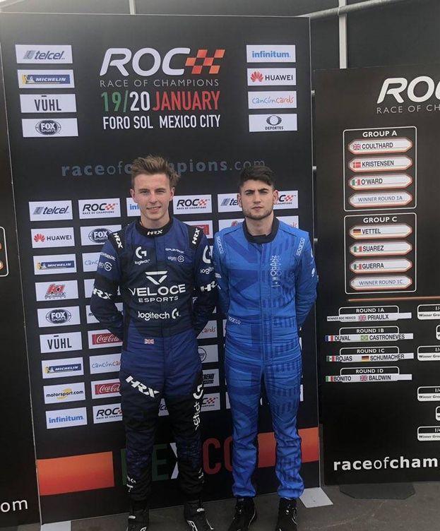 Foto: James Baldwin y Enzo Bonito, dos pilotos de 'esports'. (Veloce Esports)