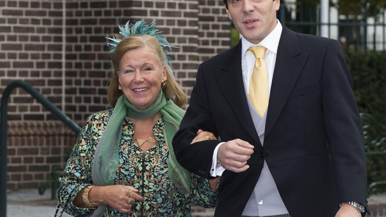 La princesa Cristina junto al príncipe Bernardo en una foto de archivo. (Getty)