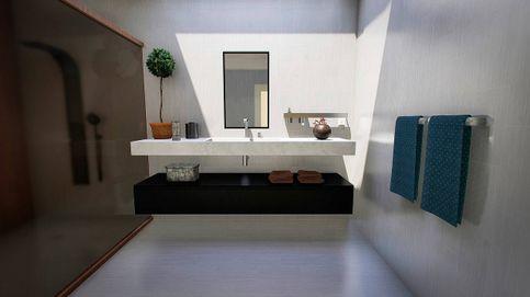 Toalleros para tener las toallas a mano en el cuarto de baño con todo el diseño