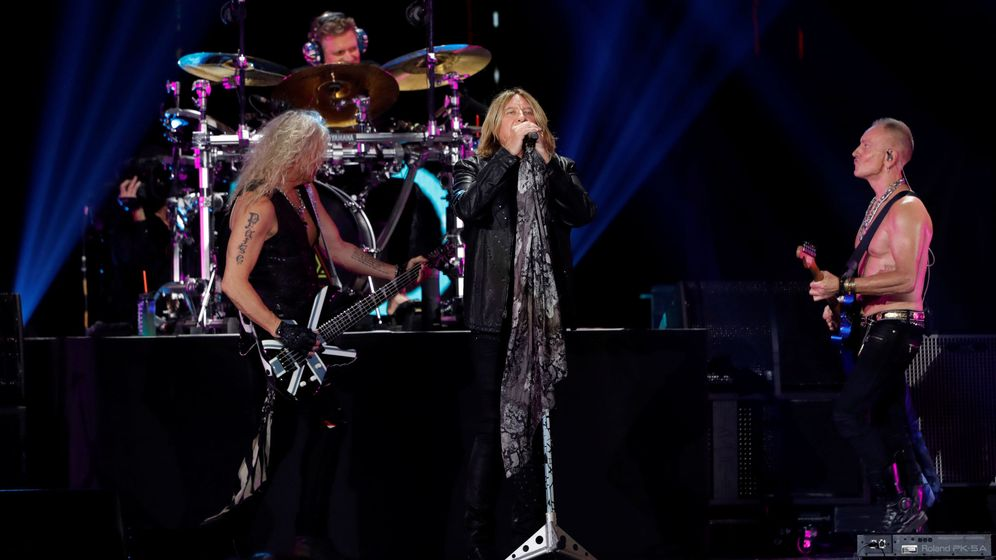 Foto: Def Leppard, en concierto. (Reuters)