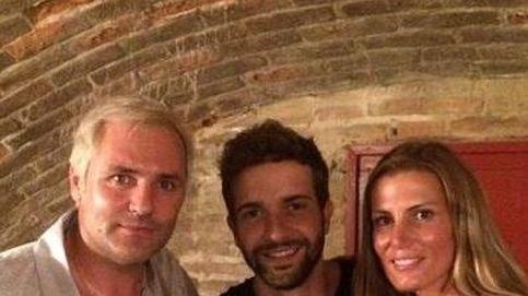 Santiago Cañizares y su familia disfrutan con la música de Alborán