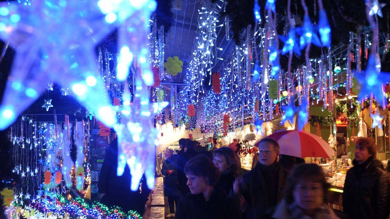 El de Estrasburgo es uno de los mercados navideños más antiguos de Europa (EFE)