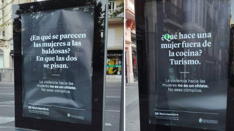 Polémica por los chistes machistas de una campaña del Ayuntamiento de Zamora