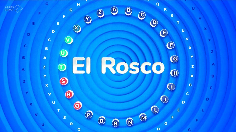 'El rosco', la prueba más icónica de 'Pasapalabra'. (Atresmedia)