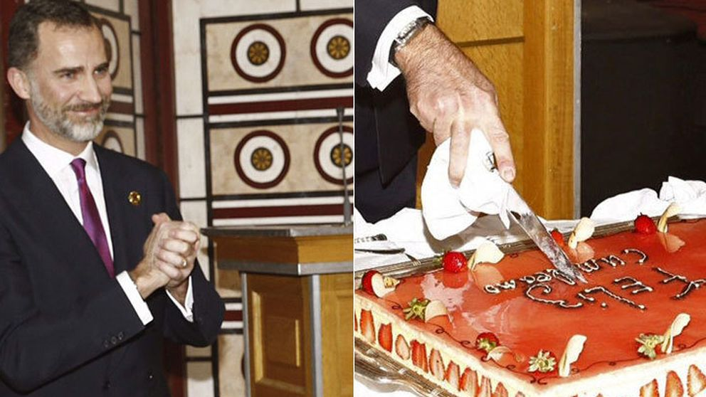 La tarta etíope de Felipe VI