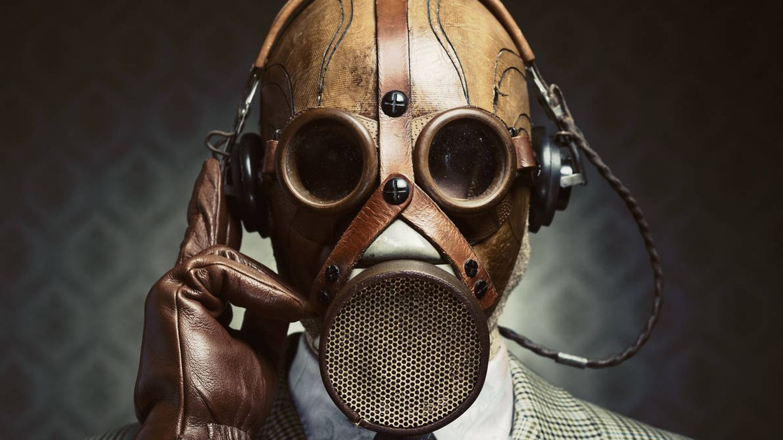 Foto: Vas a necesitar algo más que una máscara para salir con vida de esta. (iStock)