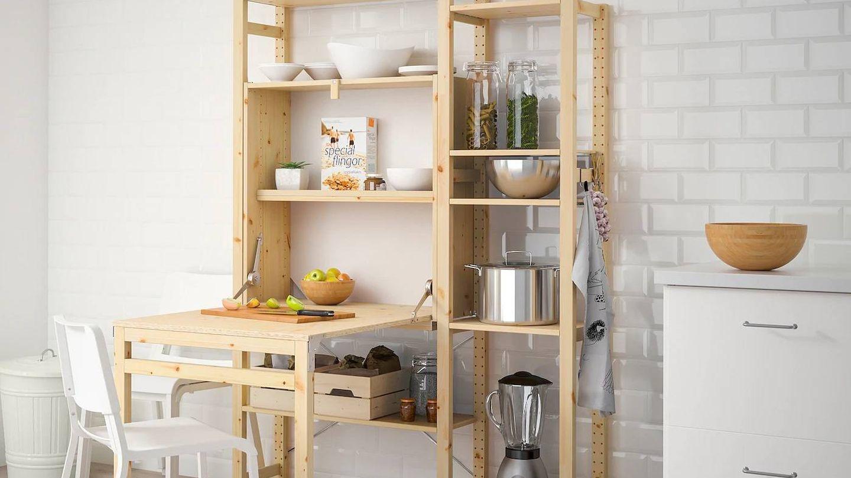 Dormitorios, salón, cocina... todas las estancias son adecuadas para este mueble de Ikea. (Cortesía)