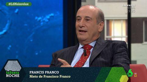 El zasca del nieto de Franco a Pablo Iglesias que ha sonrojado a Iñaki López