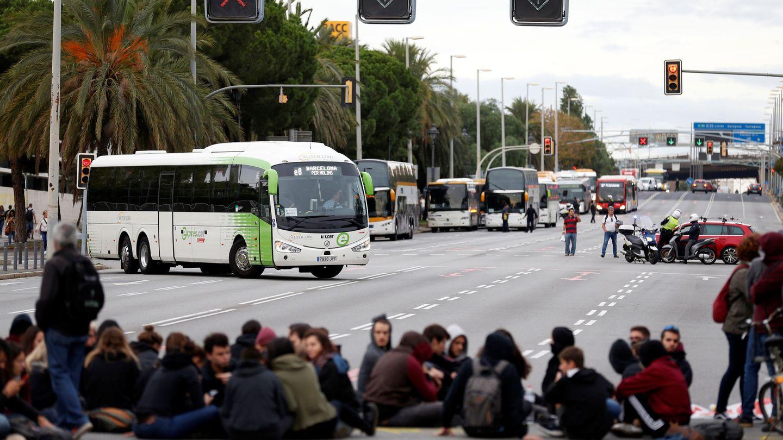 Manifestación en la Diagonal de Barcelona. (Reuters)