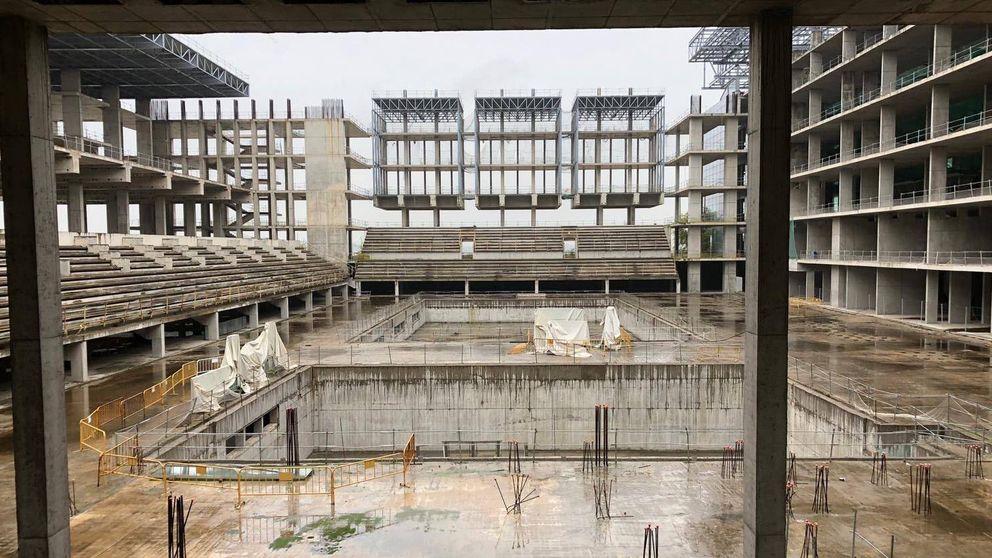El edificio maldito del Madrid olímpico o cómo la natación española busca 30 millones
