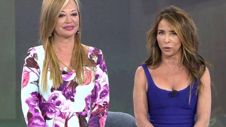 Belén Esteban y María Patiño en 'Deluxe'. (Mediaset)