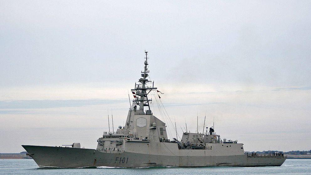 Zapatero mantuvo una fragata de escolta a EEUU en misión antiterrorista en 2005