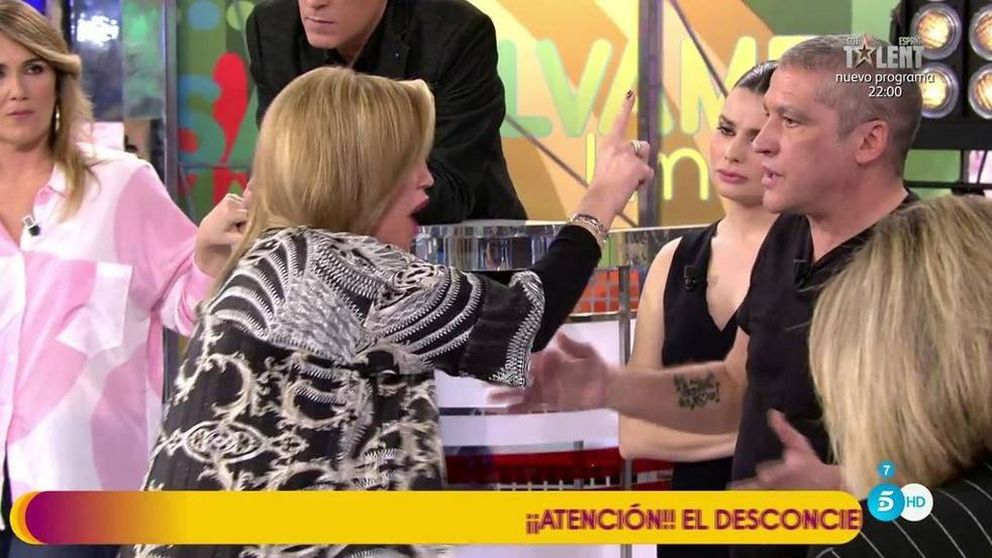 Bronca descomunal entre Belén Esteban y Gustavo a cuenta de Andrea Janeiro
