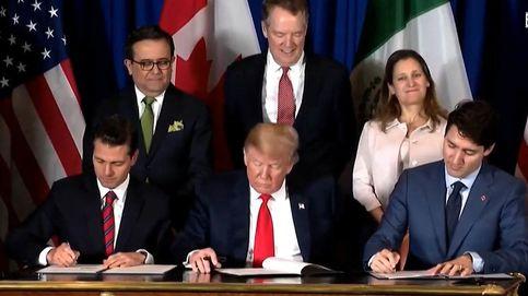 Norteamérica escenifica en el G-20 la firma de su nuevo tratado de libre comercio