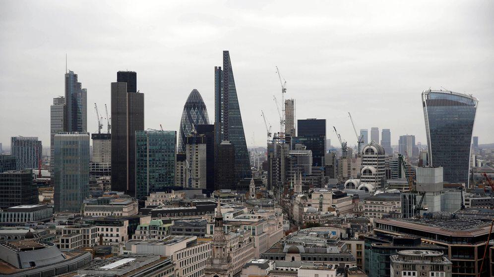 Foto: 'Skyline' de la City de Londres. (Reuters)