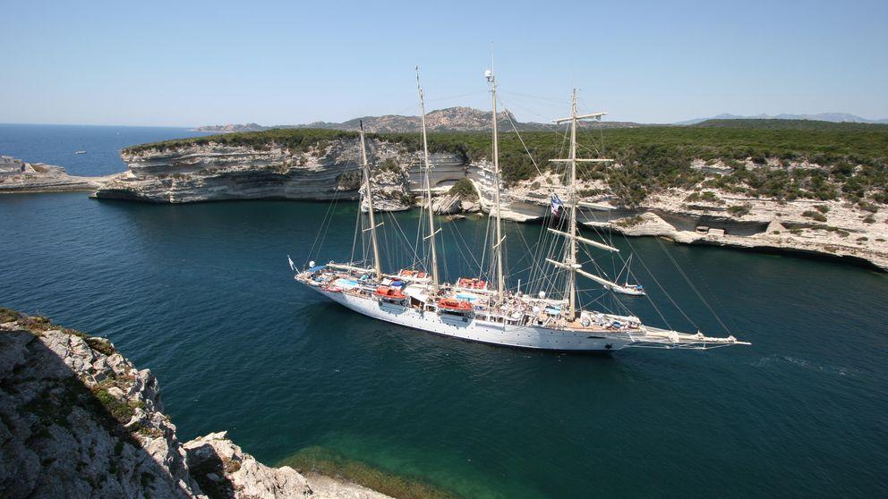 De Atenas a Estambul, gastronomía de lujo a bordo del Star Clippers