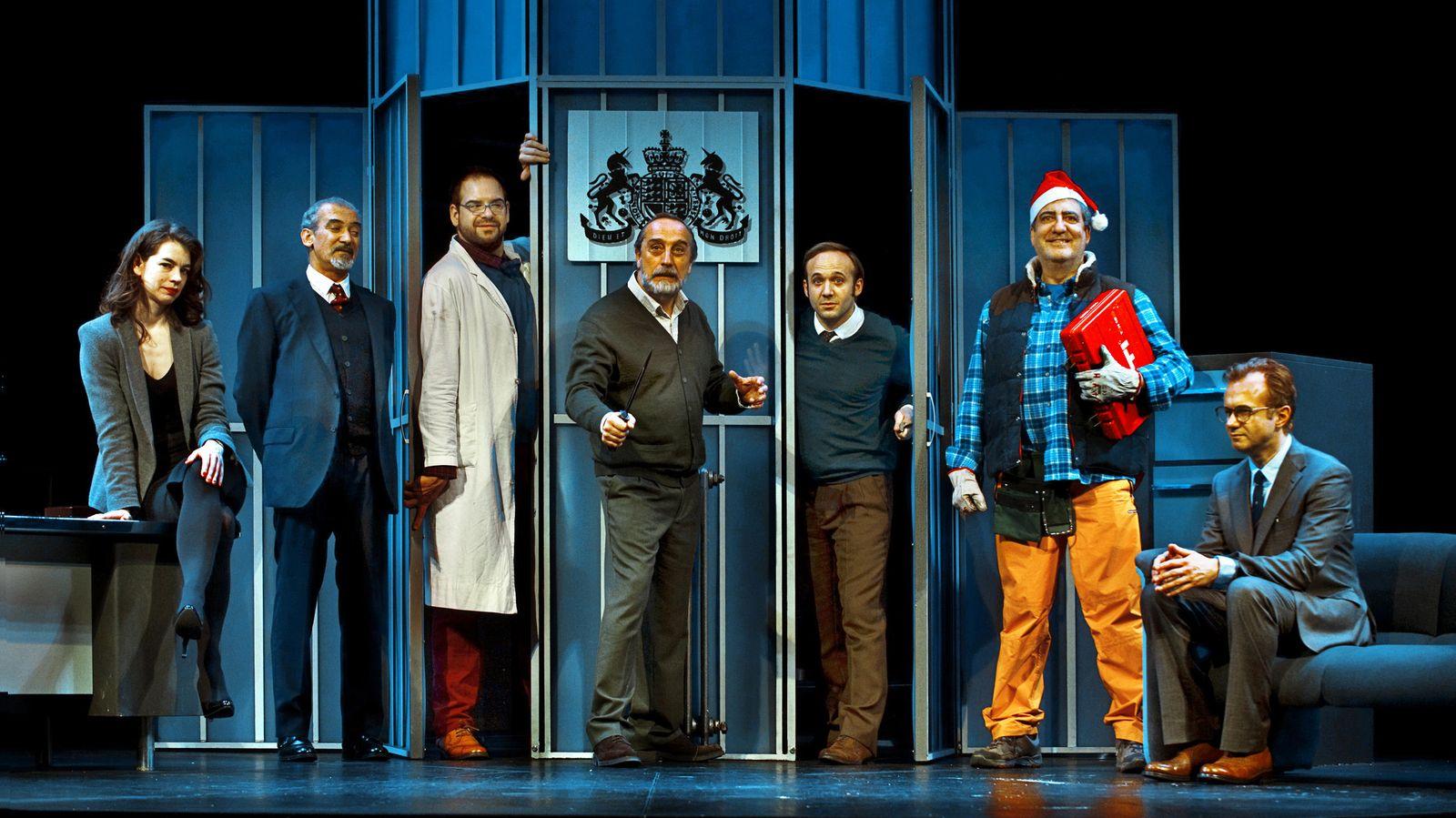 Foto: El elenco de 'Invernadero', de Harold Pinter y dirigida por Mario Gas