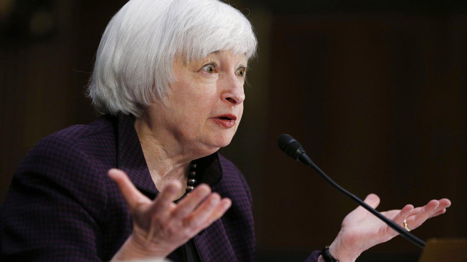 Foto: La presidenta de la Fed, Janet Yellen (Reuters)