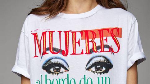 La camiseta que ha unido a Pedro Almodóvar y a Amancio Ortega