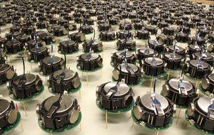 Los robots capaces de comportarse como un enjambre de abejas