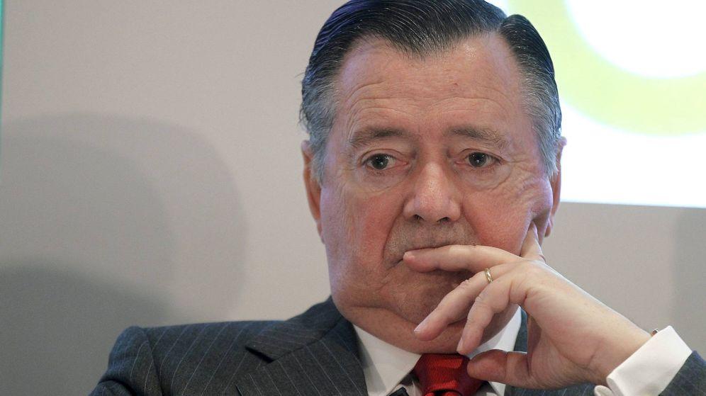 Foto: Imagen de archivo del exconsejero delegado del Santander Alfredo Sáenz. (EFE)
