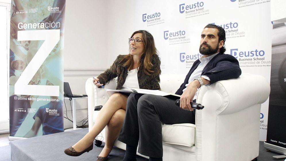 Foto: Núria Vilanova e Iñaki Ortega. (Universidad de Deusto)