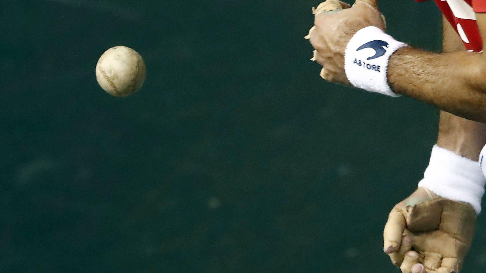 Foto: Un pelotari durante un torneo. (EFE)