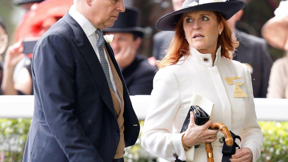 Foto: El príncipe Andrés y Sarah Ferguson. (Getty)
