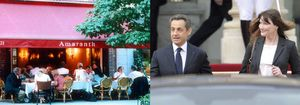 El derroche de Sarkozy y Bruni: gastan 1.100 dólares en pizza para su jet privado