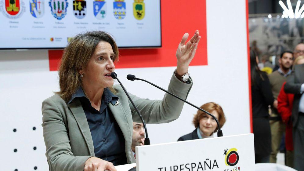 Foto: La ministra teresa Ribera, la semana pasada en Fitur. (EFE)
