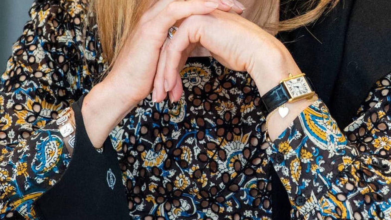 Las nuevas pulseras de la reina Máxima. (EFE)
