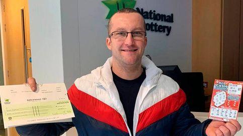 Gana 75.000 euros a la lotería gracias a la racha de su mujer