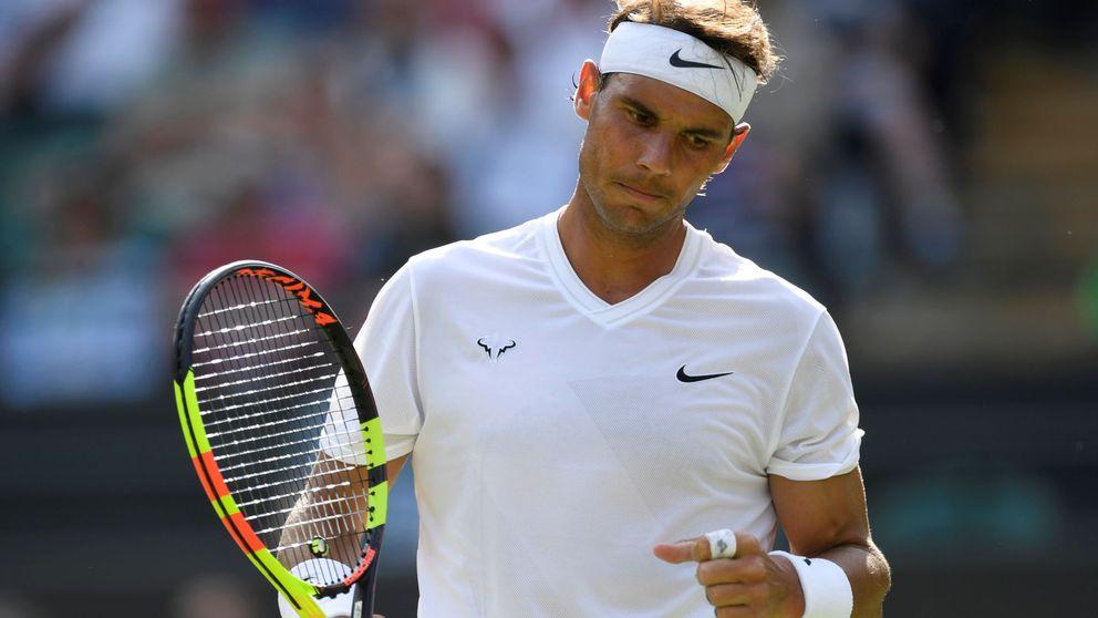 Rafa Nadal no cae en la trampa de Wimbledon y arrasa a Yuichi Sugita