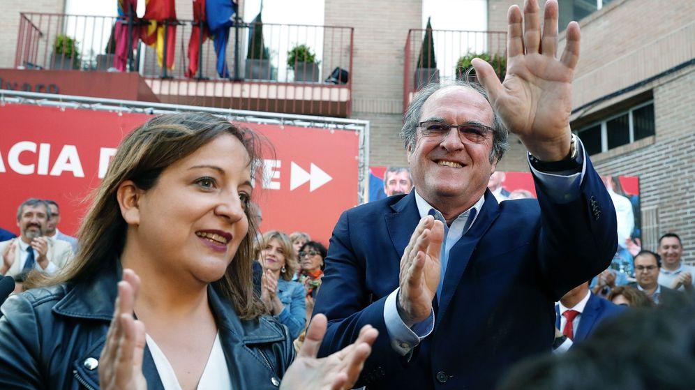 Foto: Iratxe García y Angel Gabilondo. (Efe)