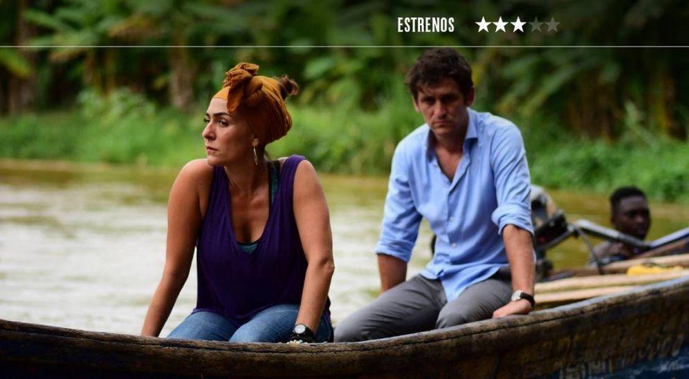 Foto: Candela Peña y Raúl Arévalo en 'Black Beach'. (eOne)