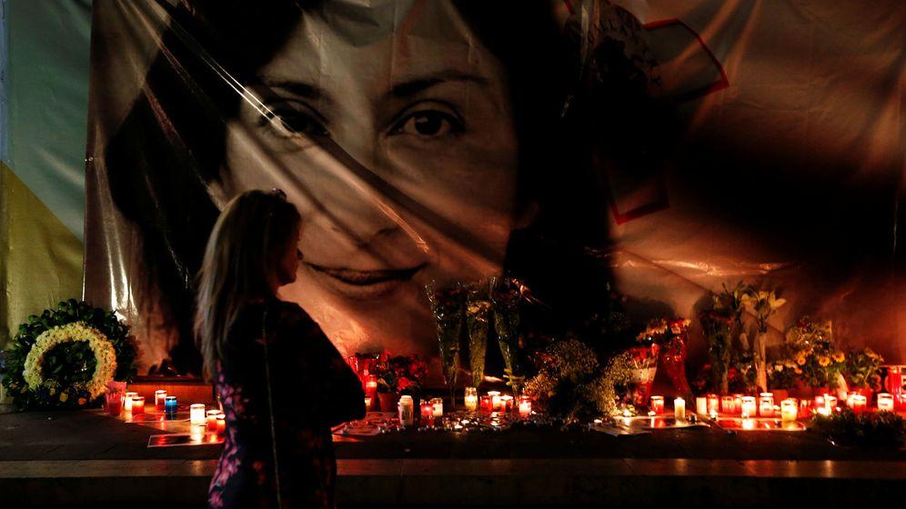 Foto: Acto de recuerdo a Daphne Caruana Galizia. (Reuters)
