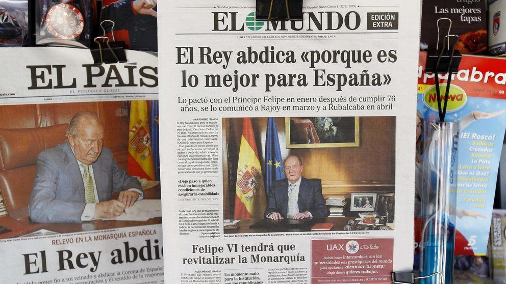 La prensa de derechas cambia el paso y critica una monarquía caduca