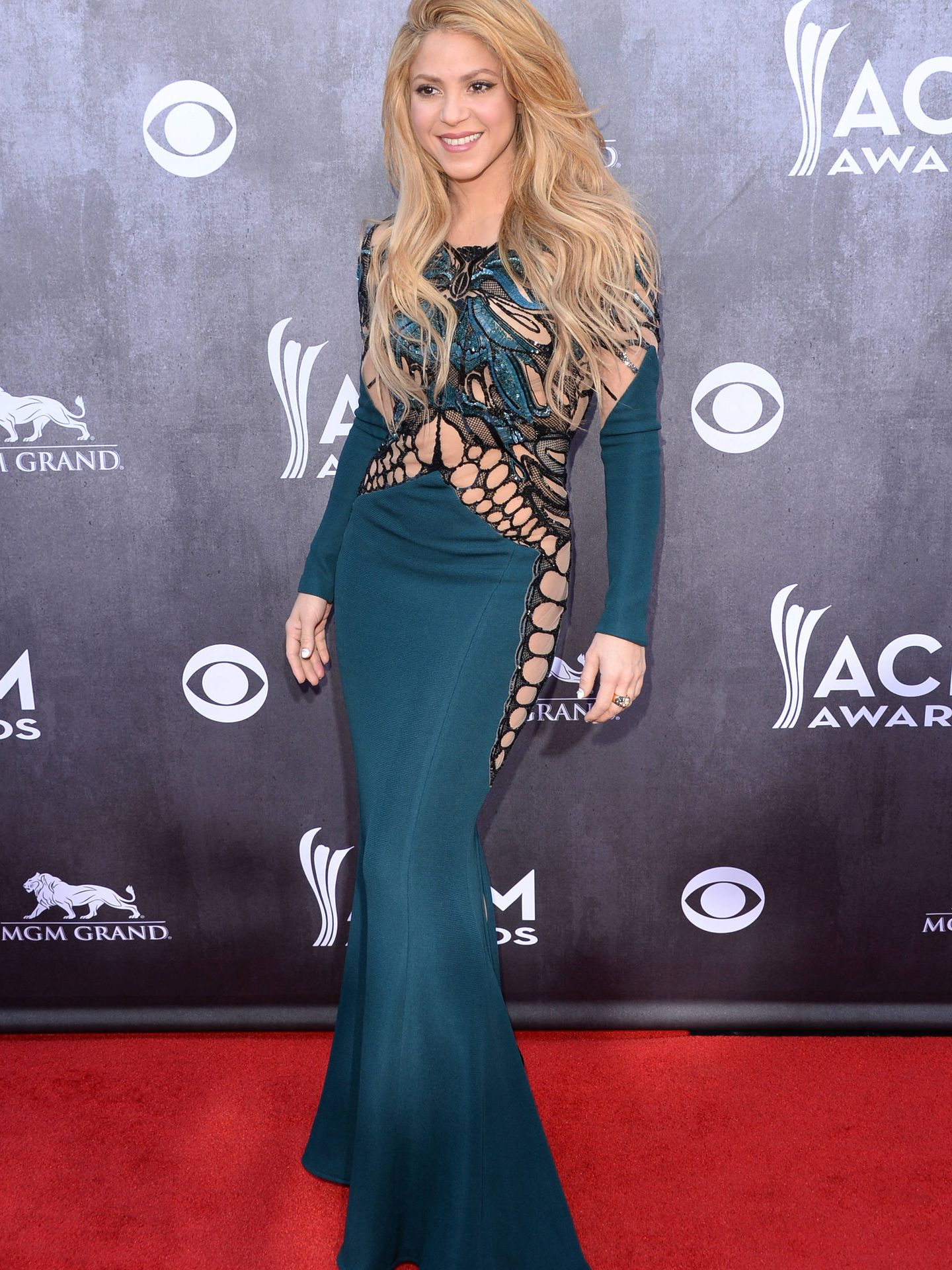 Shakira, en los Annual Academy Of Country Music Awards. (Getty)