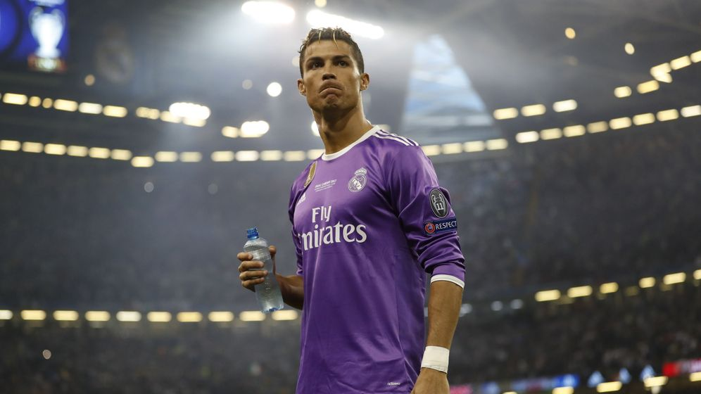 Foto: Cristiano Ronaldo, el pasado fin de semana en Cardiff. (EFE)