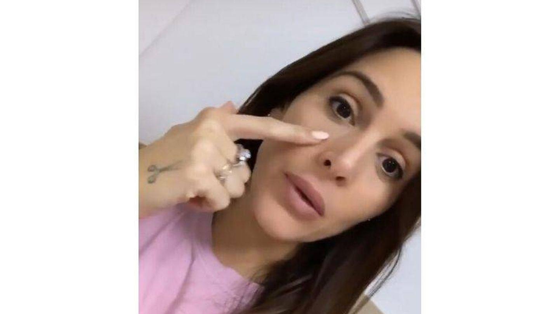 Captura de vídeo. (Instagram @rocio0sorno)