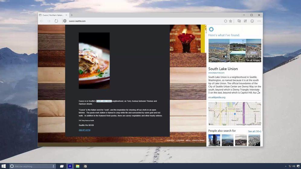 Foto: Las filtraciones dibujan cómo será Spartan, el nuevo navegador de Microsoft