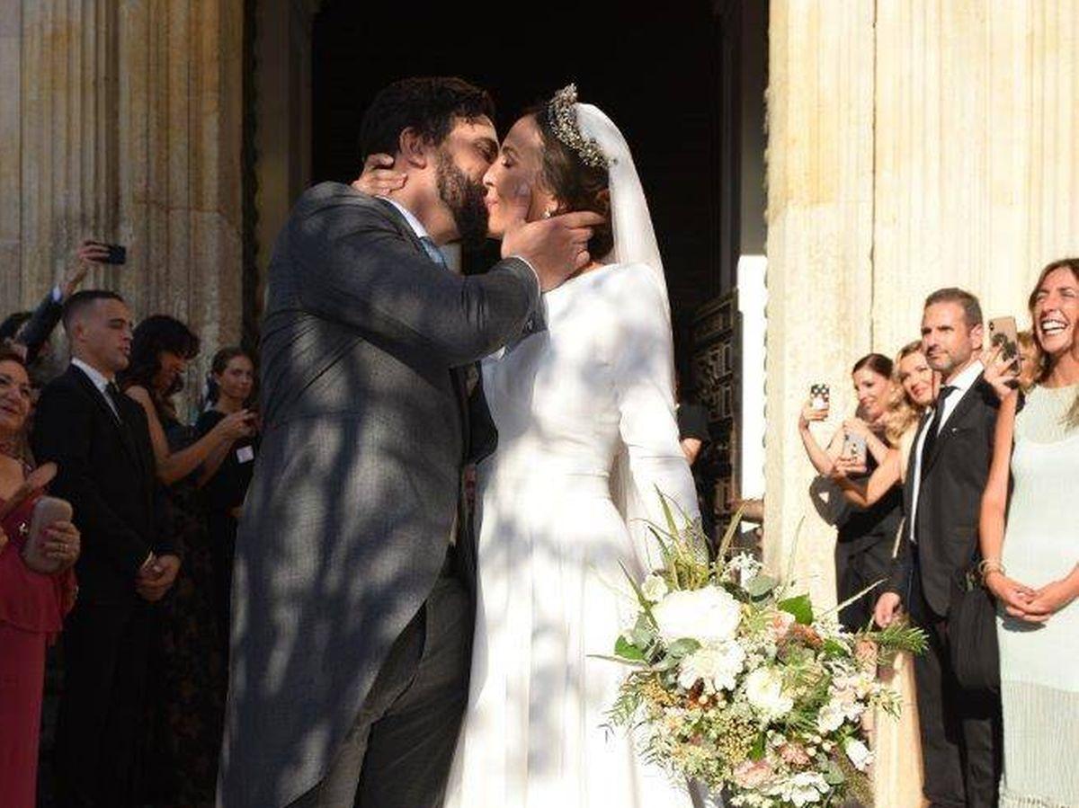 Foto: Rocío Osorno en su boda. (Sevilla Press)