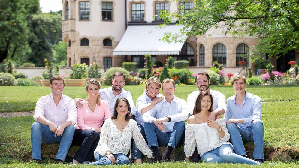 Foto: La familia gran ducal de Luxemburgo. (EFE)