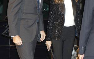 El príncipe Felipe a Belén Esteban: Nos alegramos de verte