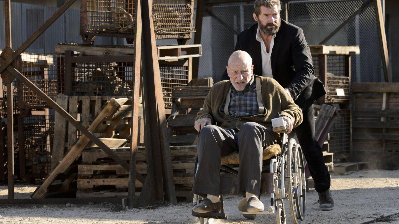 Patrick Stewart y Hugh Jackman.