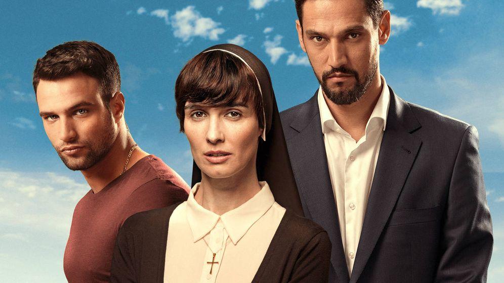 Foto: Paz Vega, Stany Coppet y Jesús Castro protagonizan 'Perdóname, señor'. (Mediaset España)