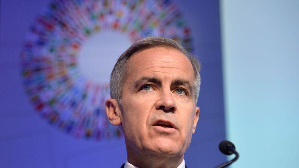 Foto: Mark Carney, gobernador del Banco de Inglaterra. (Reuters)