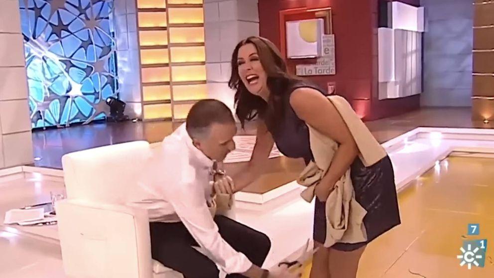 La 'broma' de Juan y Medio tras cortarle la falda a su compañera, sin sanción