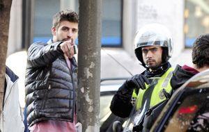 Piqué y Shakira se comen a besos tras su reencuentro