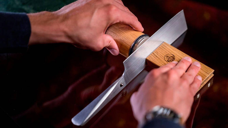 Cómo afilar cuchillos en casa